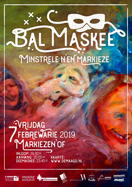 """Bal Maskee """"Minstrele n'en Markieze"""""""